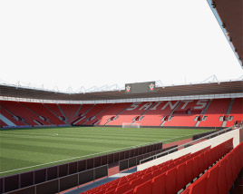 St Mary's Stadium 3D model