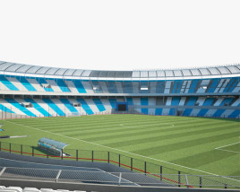 Presidente Peron Stadium 3D model