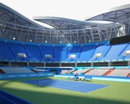 Qizhong Forest Sports City Arena 3D model