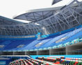 Qizhong Forest Sports City Arena 3d model