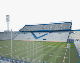 3D model of Jose Amalfitani Stadium