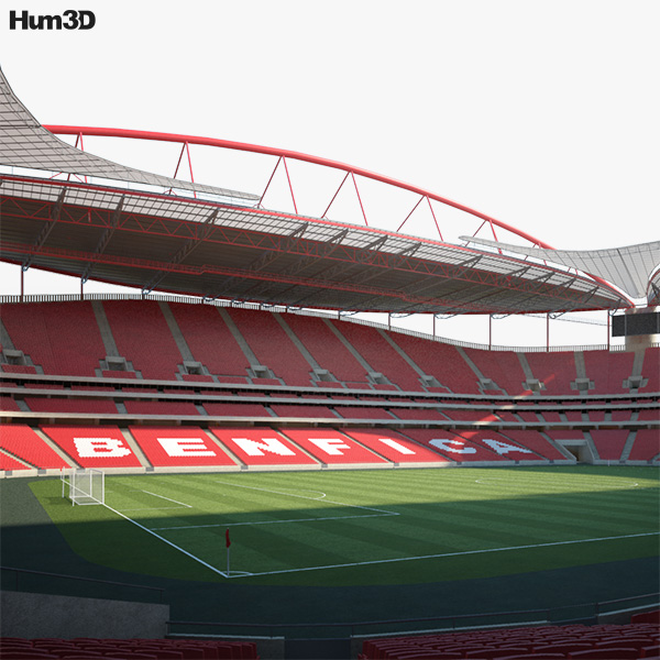 3D model of Estadio da Luz