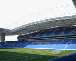 3D model of Estadio do Dragao