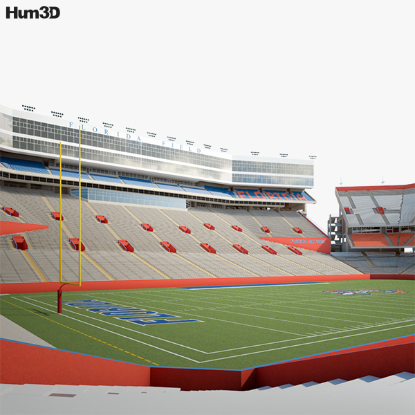 3D model of Ben Hill Griffin Stadium