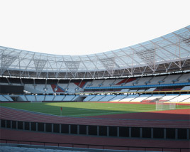 3D model of London Stadium