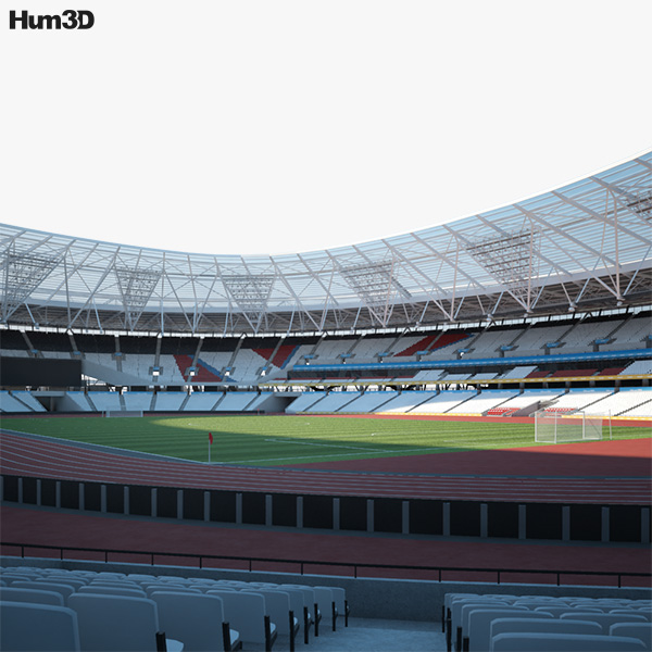 London Stadium 3D model