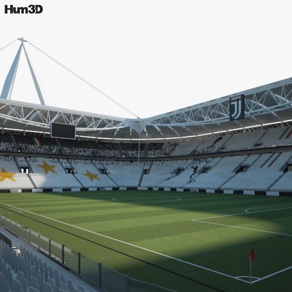 3D model of Juventus Stadium
