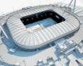 Juventus Stadium 3d model