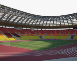 3D model of Luzhniki Stadium