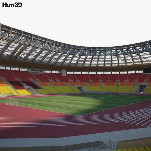 3D model of Luzhniki Stadium
