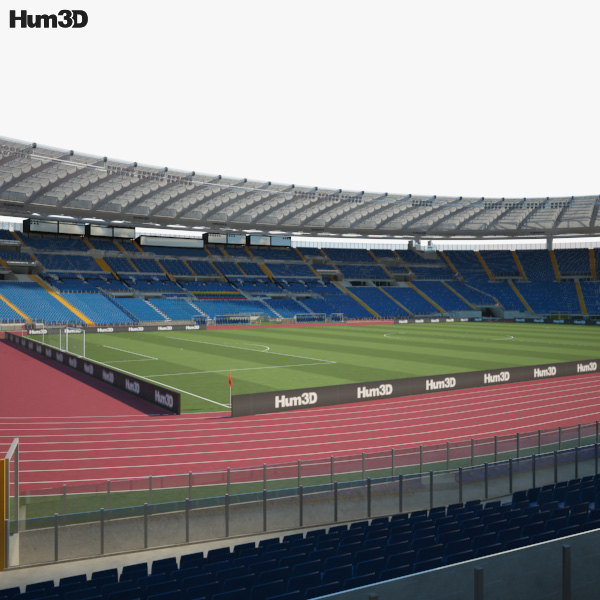 3D model of Stadio Olimpico