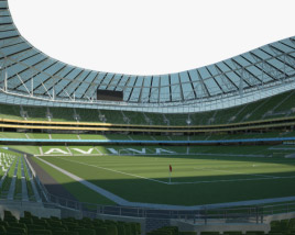 3D model of Aviva Stadium