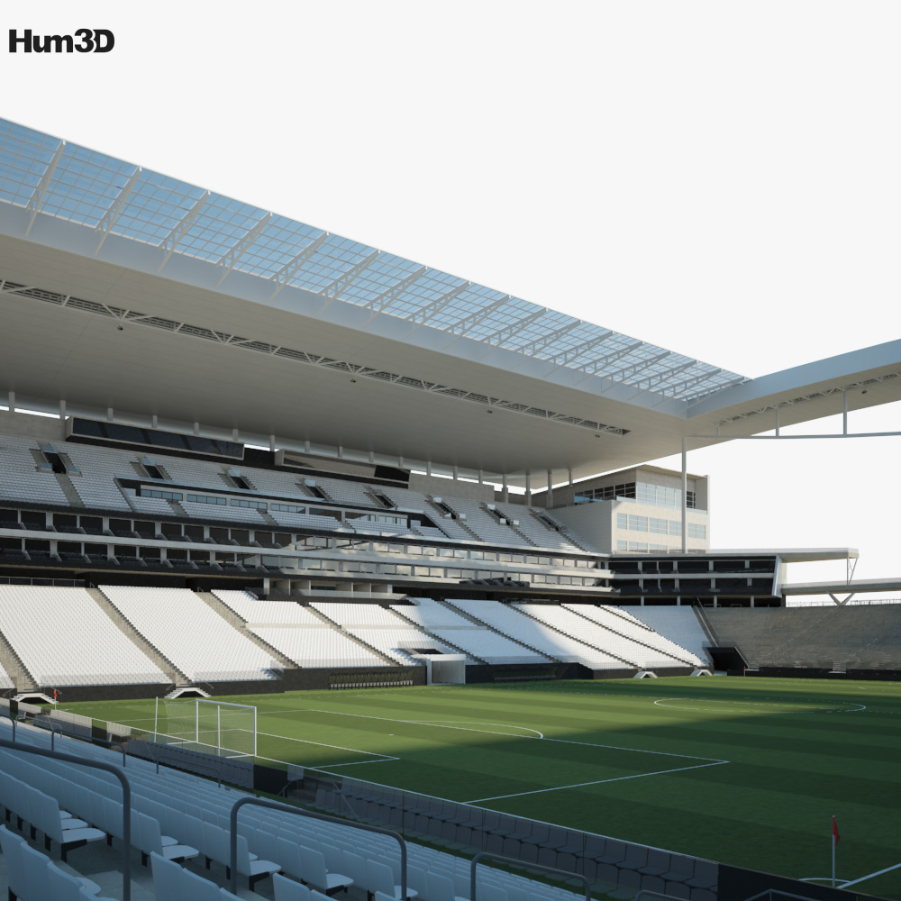 Arena Corinthians 3D model