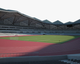 3D model of Shenzhen Universiade Sports Centre Stadium