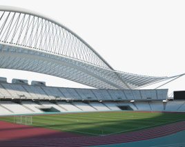 Olympic Stadium Athens Greece 3D model