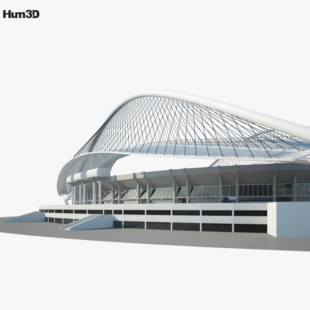 Olympic Stadium Athens Greece 3d model
