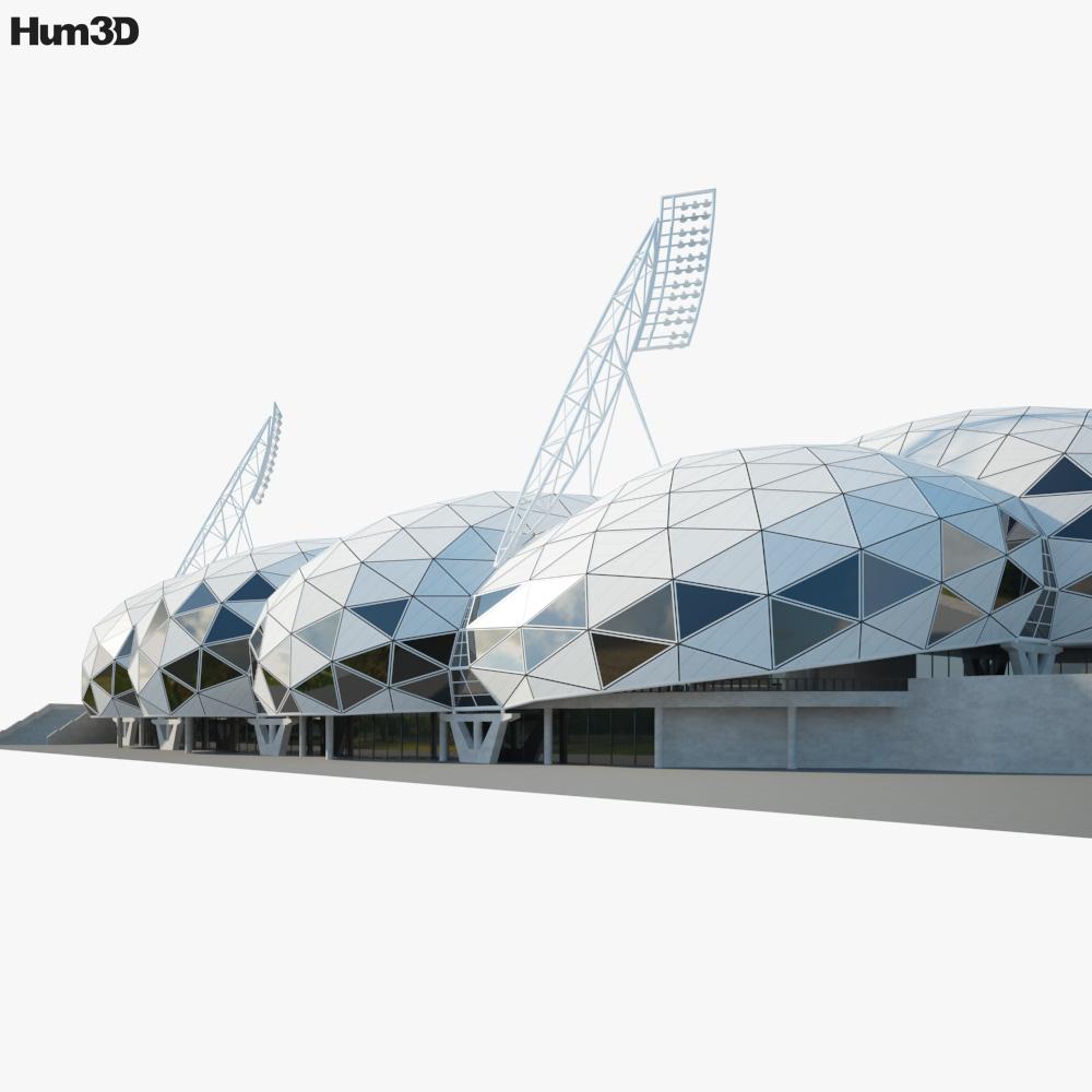 AAMI Park 3d model