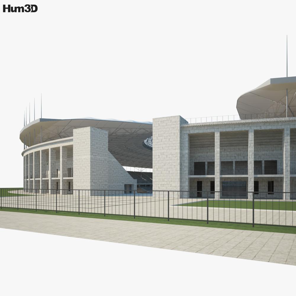 Olympiastadion 3d model