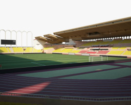 3D model of Stade Louis II