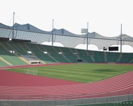 3D model of Olympiastadion Munich