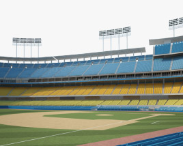 3D model of Dodger Stadium