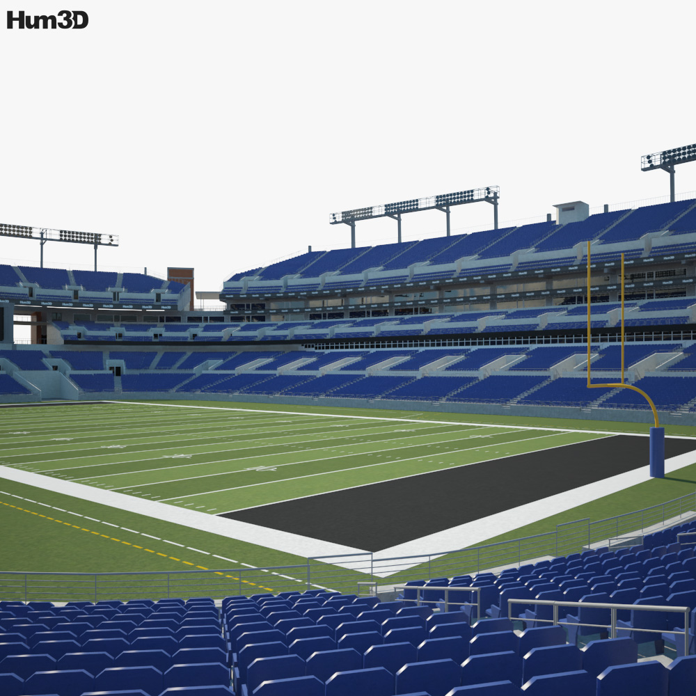M&T Bank Stadium 3D model