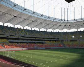 3D model of National Stadium Bucharest