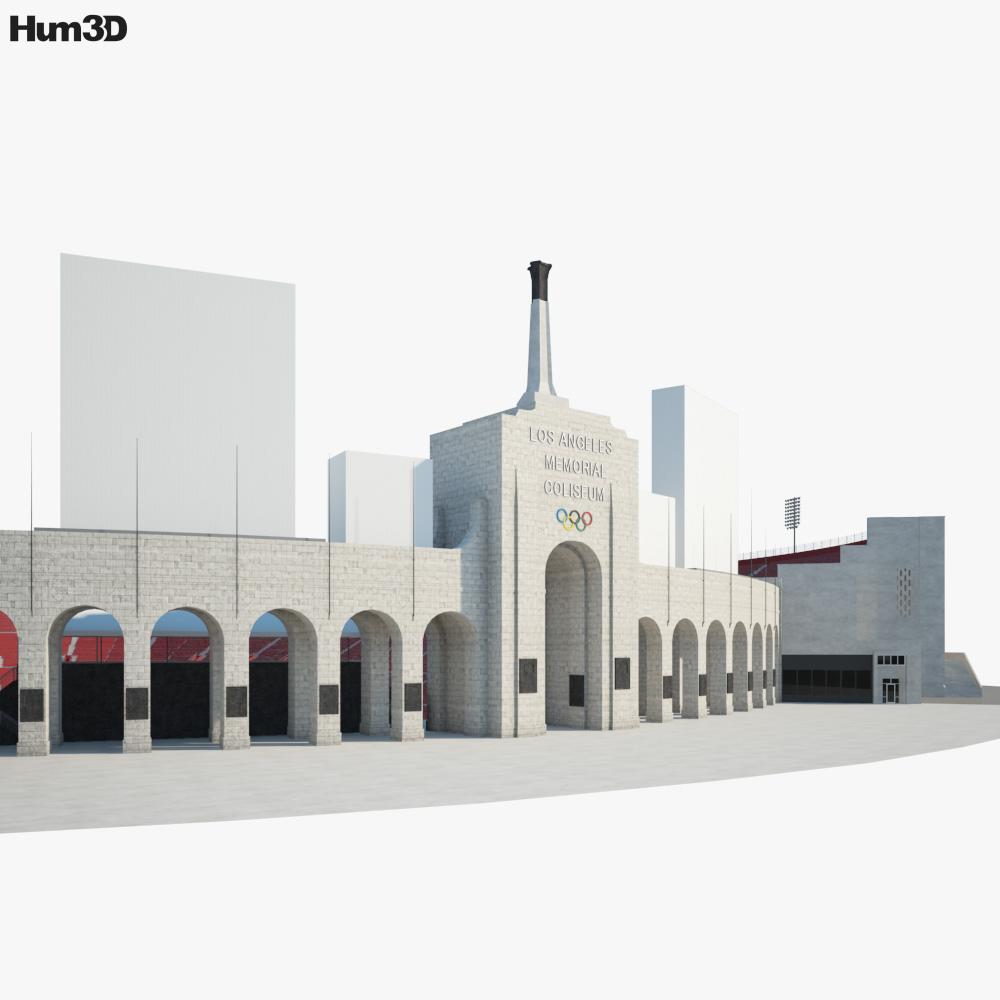 Los Angeles Memorial Coliseum 3d model