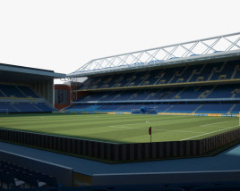 Ibrox Stadium 3D model
