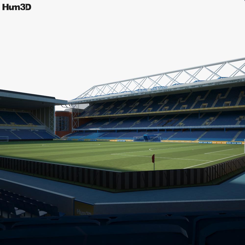 Ibrox Stadium 3D model