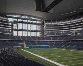 3D model of AT&T Stadium