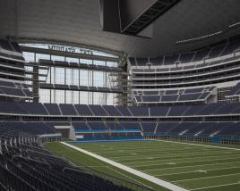 AT&T Stadium 3D model