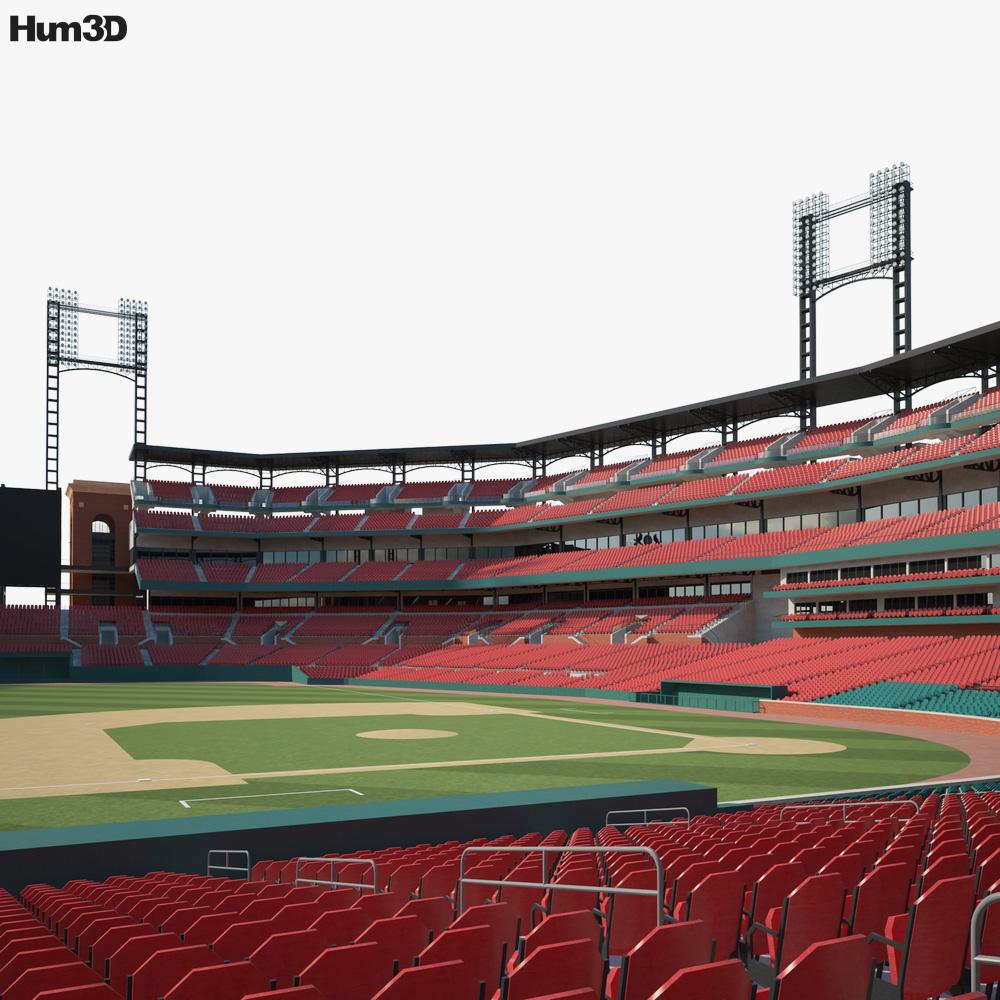 Busch Stadium 3D model