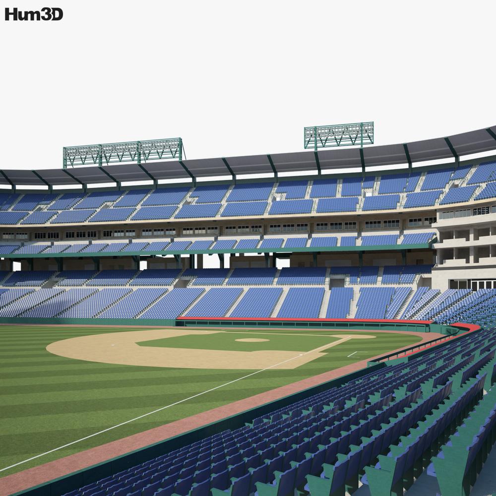 Angel Stadium 3D model