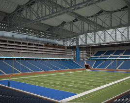 3D model of Ford Field