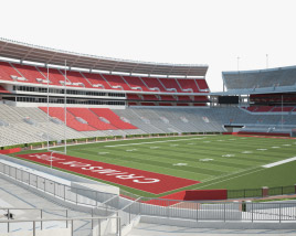 3D model of Bryant-Denny Stadium
