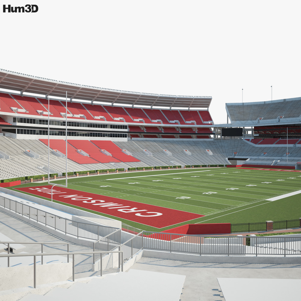 Bryant-Denny Stadium 3D model
