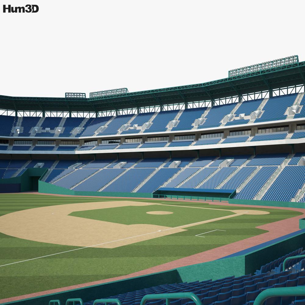 Turner Field 3D model