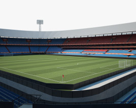 3D model of Feyenoord Stadium