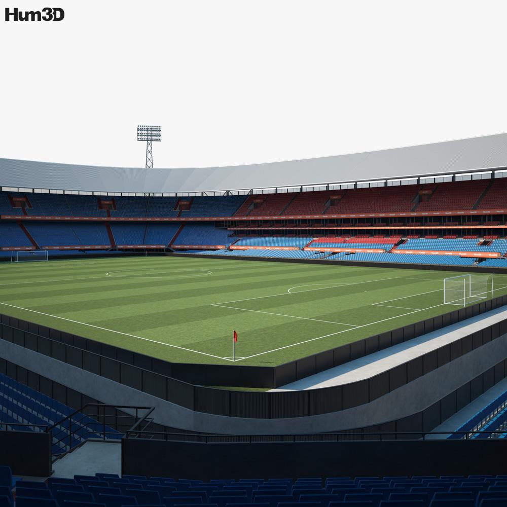 Feyenoord Stadium 3D model