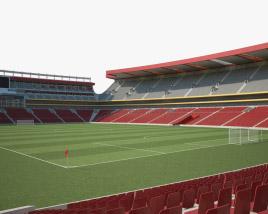3D model of Ellis Park Stadium