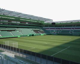 3D model of Allianz Stadion