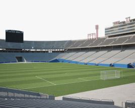 3D model of Cotton Bowl stadium
