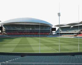 3D model of Adelaide Oval