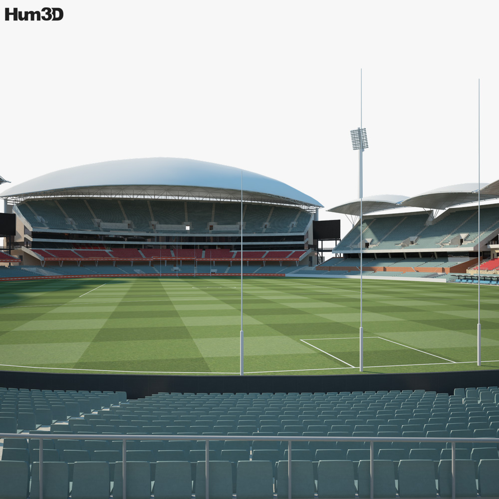 Adelaide Oval 3D model