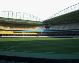 Docklands Stadium 3D model