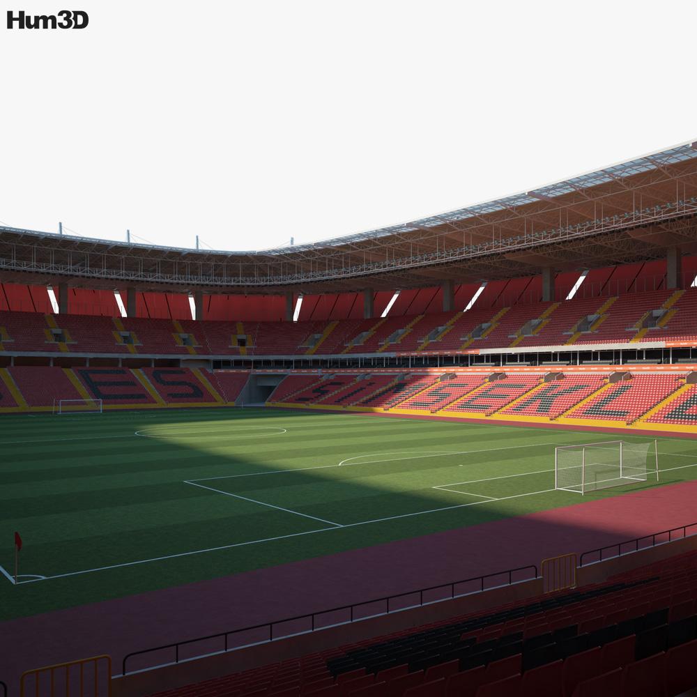 Eskisehir Yeni Stadium 3D model