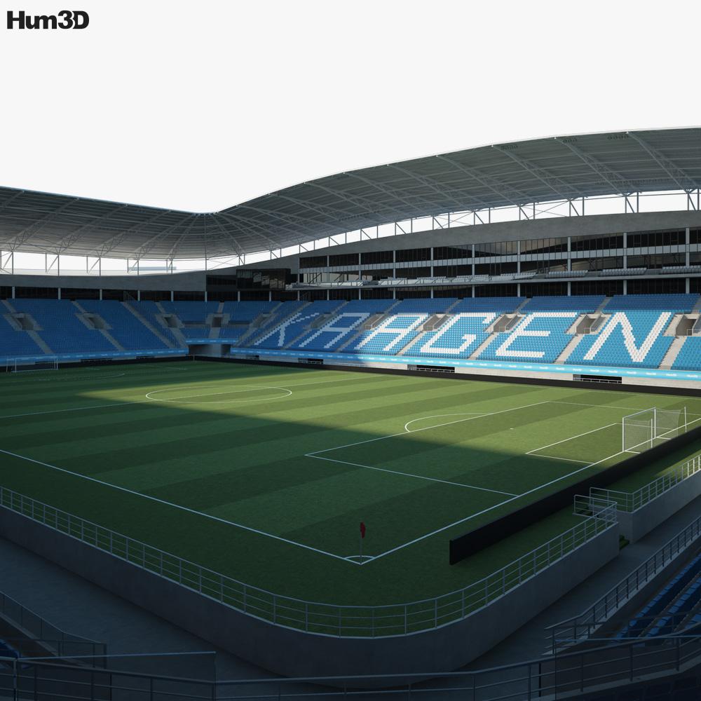 Ghelamco Arena 3D model
