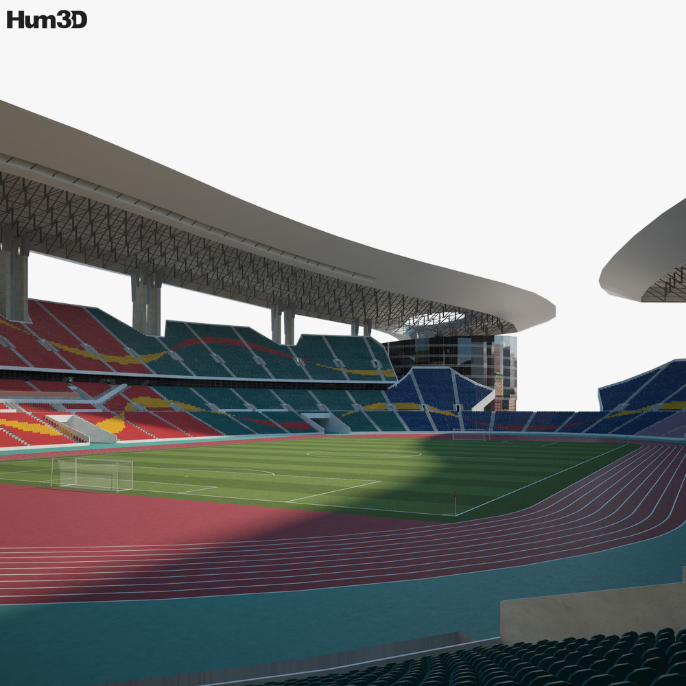 Guangdong Olympic Stadium 3D model