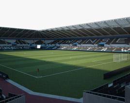 Liberty Stadium 3D model